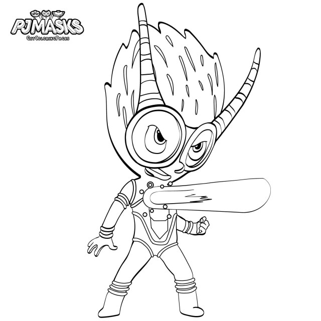 Owlette Coloring Page Coloring Pages For Kids Owlette With Pj Masks Colouring Pages