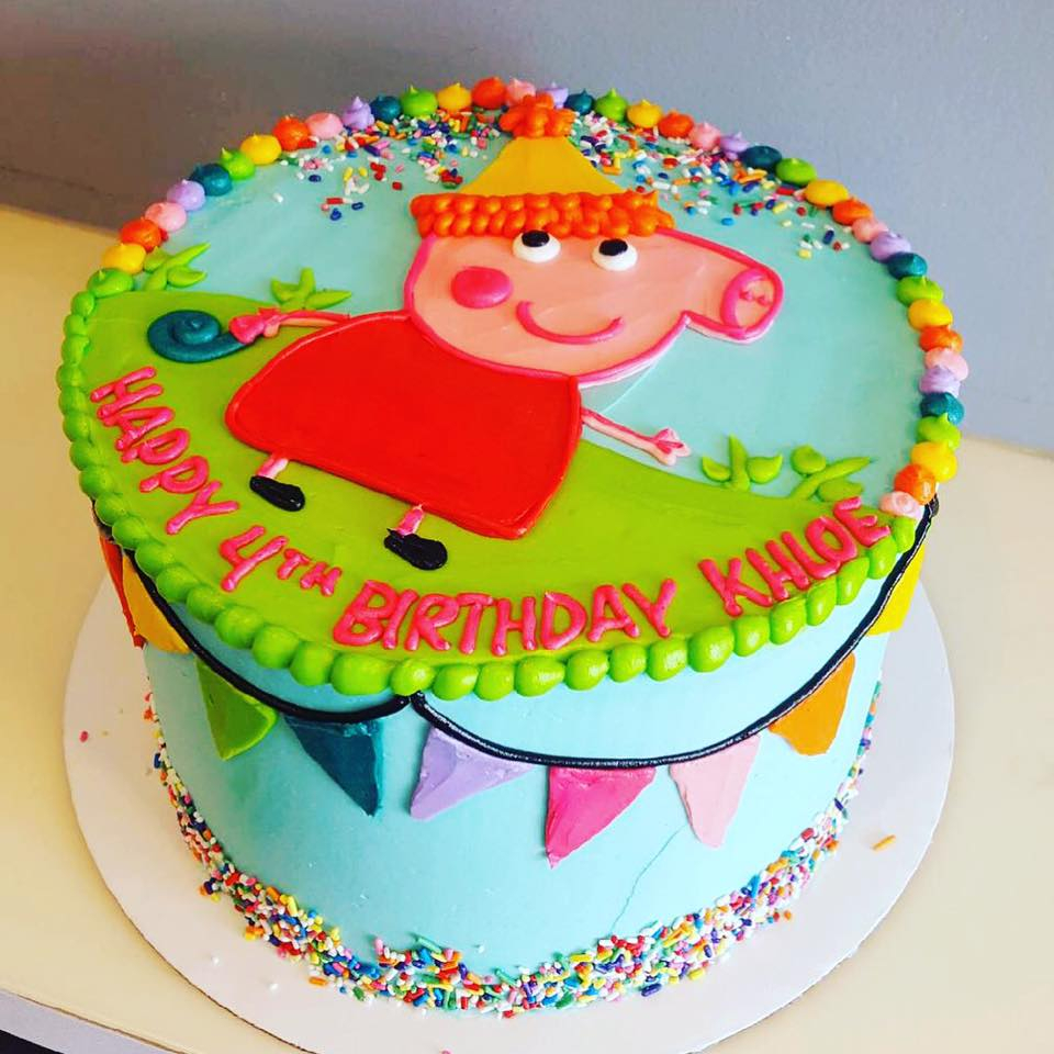 Peppa Pig Birthday Cake Peppa Pig Birthday Cake Hayley Cakes And Cookieshayley Cakes And