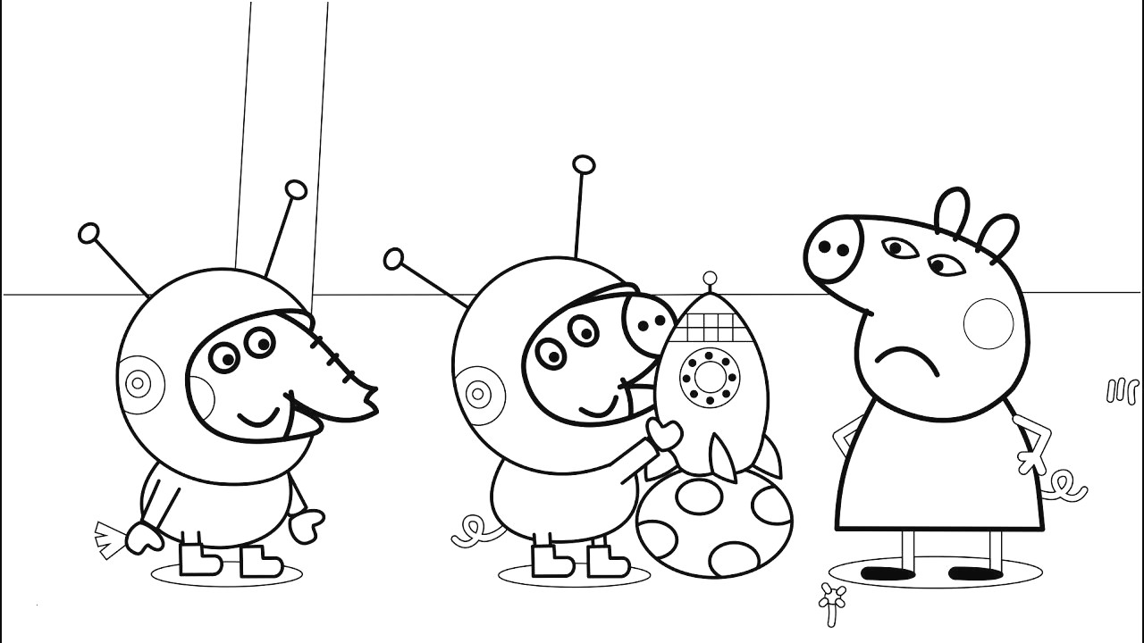 Pig coloring pages peppa coloring pages lovely 44 luxury gallery