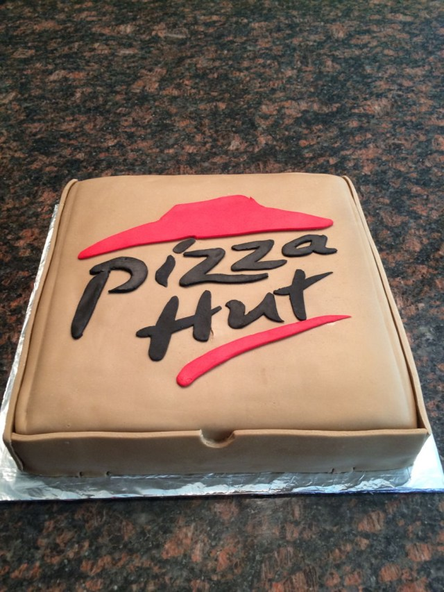 Pizza Birthday Cake Pizza Hut Cake Cakecentral