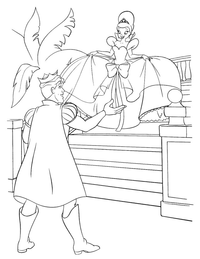 Princess And The Frog Coloring Pages The Princess And The Frog Coloring Pages