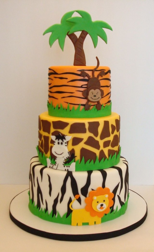 Safari Birthday Cake Pin Mia Castillo On Safari Cakes Pinterest Birthday Jungle