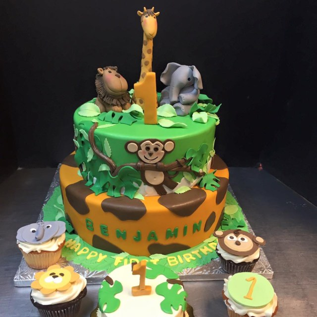 Safari Birthday Cake Safari Birthday