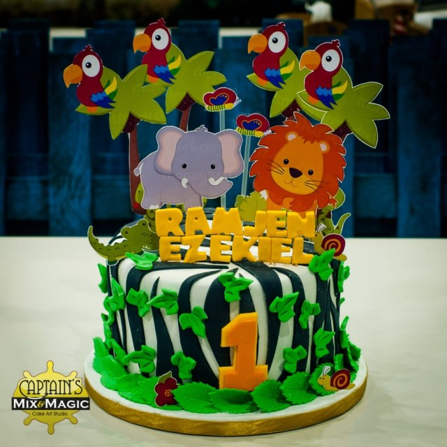 Safari Birthday Cake Safari Captains Mix And Magic Captains Sweet Galley Of Treats