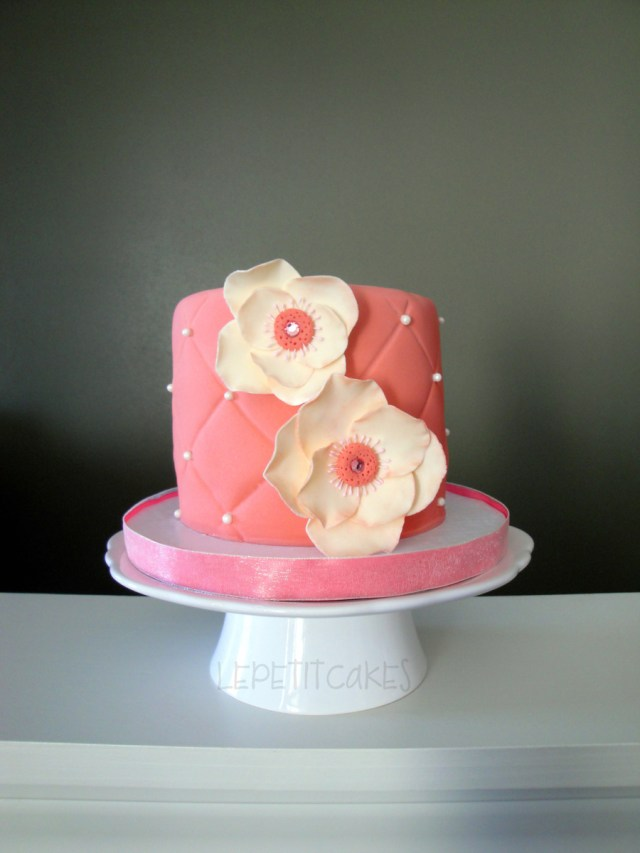 Small Birthday Cakes Fantasy Flower Birthday Cake Cakecentral