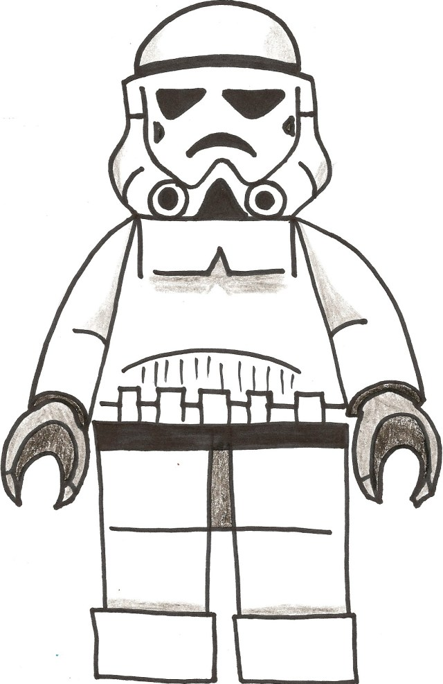 Stormtrooper Coloring Page Stormtrooper Coloring Pages Lezincnyc
