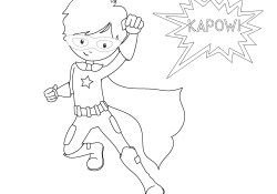 Superhero Coloring Page Free Printable Superhero Coloring Sheets For Kids Crazy Little