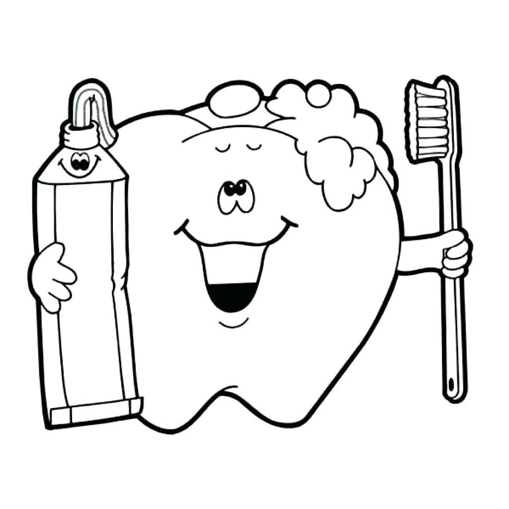 25 Inspiration Image Of Tooth Coloring Pages Entitlementtraprhentitlementtrap: Cartoon Tooth Coloring Pages At Baymontmadison.com