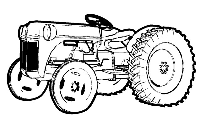 Tractor Coloring Pages Free Printable Tractor Coloring Pages For Kids