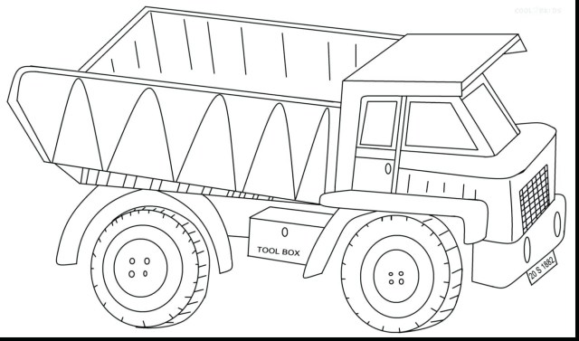 Truck Coloring Pages Expert Dump Truck Coloring Pages Pictures Of Tractor Trailers Best
