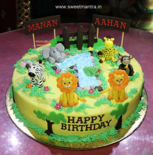Twin Birthday Cakes Twin Boys Birthday Cake 44 Cakes Cakesdecor