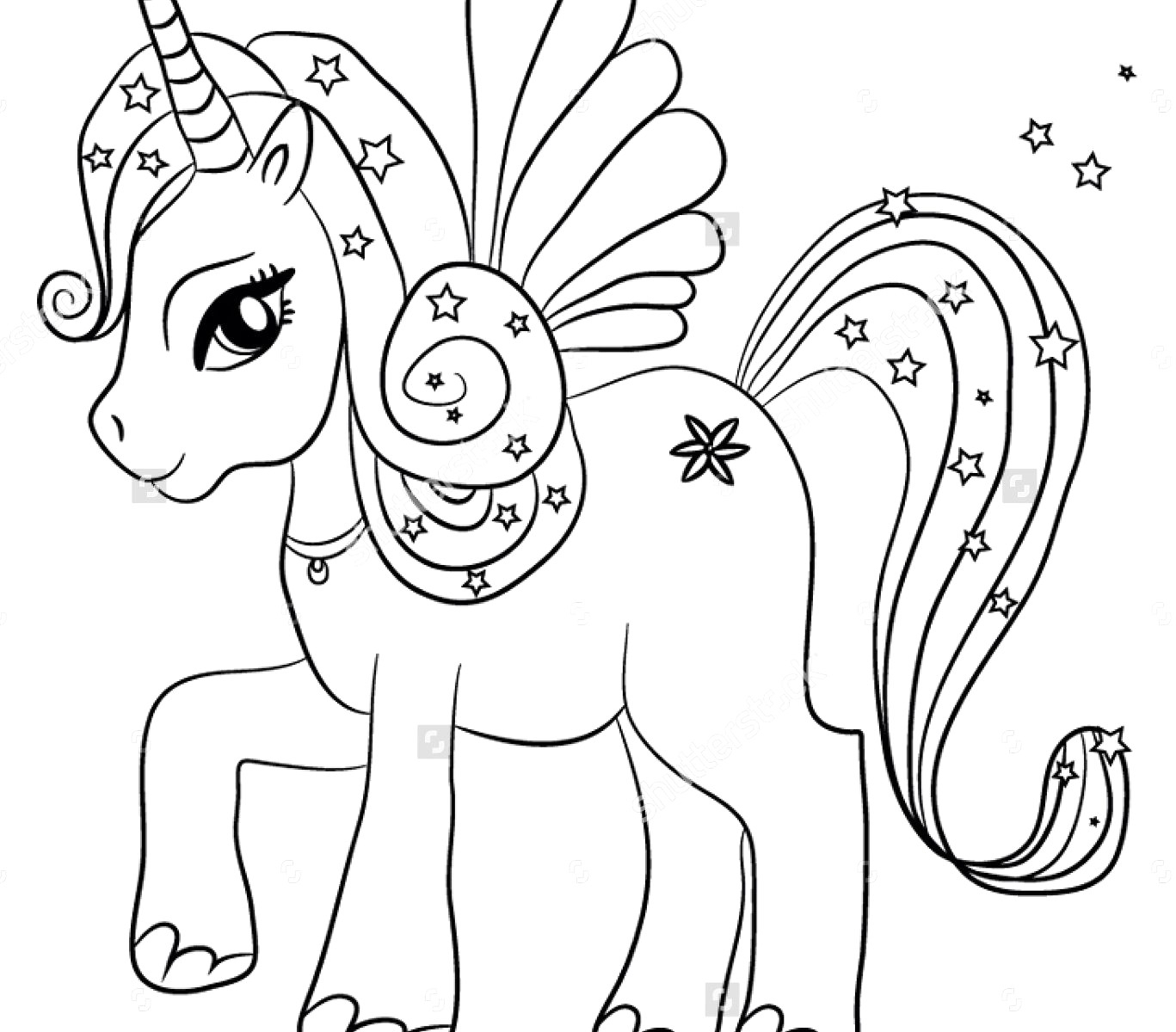 Great Photo Of Unicorn Coloring Pages For Adults Entitlementtraprhentitlementtrap: Real Unicorn Coloring Pages At Baymontmadison.com