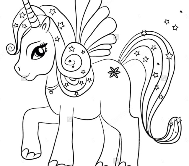 Unicorn Coloring Pages For Adults Magnificent Printable Unicorn Coloring Pages 18 Adult 10 A Paper