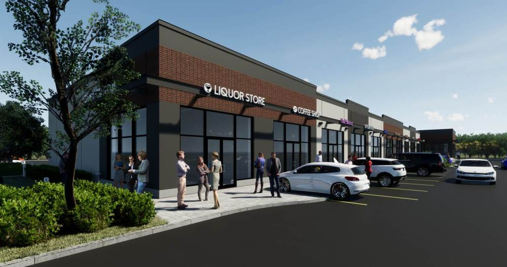 Entity Developments Stony Plain Retail E