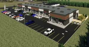 Entity Developments Stony Plain Retail G