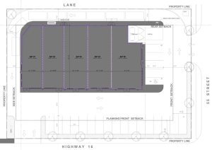 Entity Developments Edson Plaza SITE PLAN