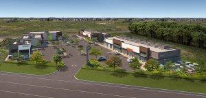 Entity Developments Ewing Plaza West Render
