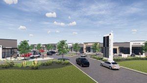 Entity Developments Ewing Plaza West ntrance