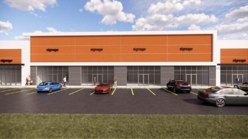 Entity Developments Gateway Blvd Center Renders