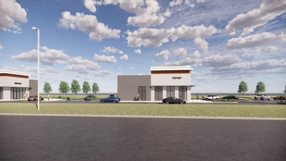 Entity Developments Gateway Blvd Center Renders Building 7