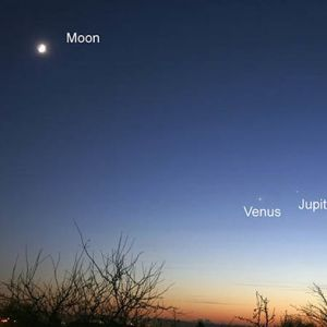 Venus Jupiter Conjunction 2017: The Planets Will Rise As One On Monday