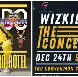 Some Similarities Between Wizkid And Davido's Concerts