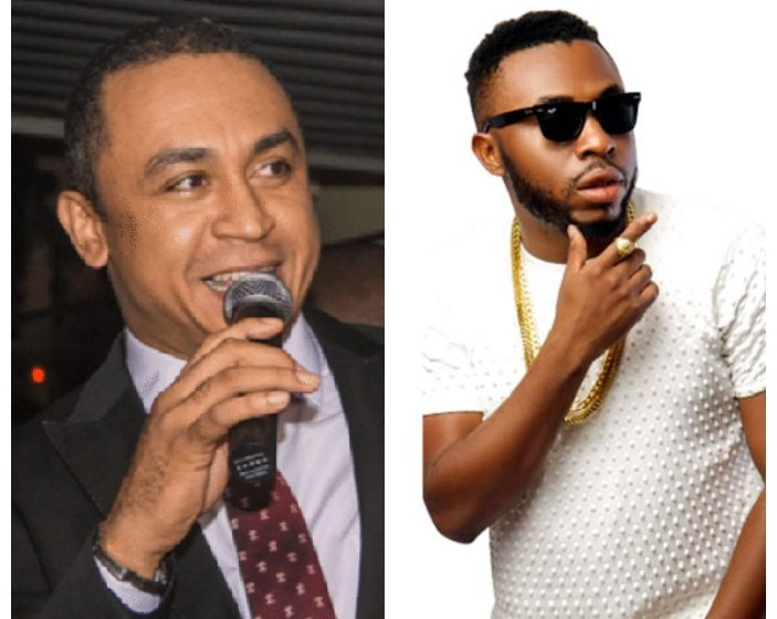 Daddy Freeze and Samklef beef themselves on instagram because of an RCCG post