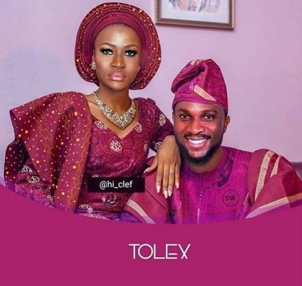 #BBNaija: Tobi And Alex Pre-wedding Photo