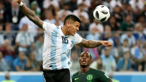 Reason why the referee didn't give Nigeria another penalty against Argentina for Rojo's hand ball