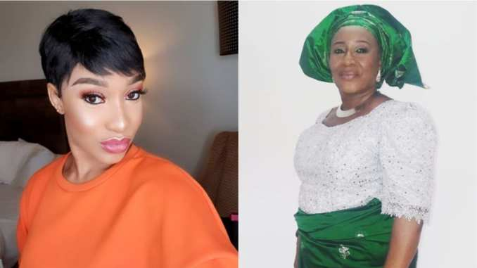 Tonto Dikeh comes for Patience Ozokwor for saying hair weaves are dedicated to shrines