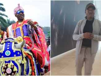 King of Iwoland dishes foreign style for his subjects, says he's got the right dose of swag