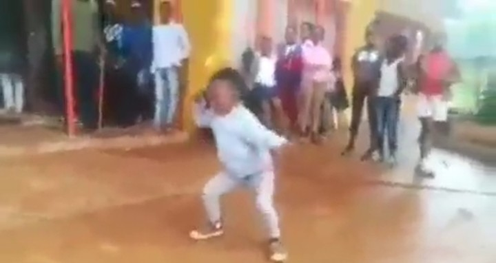 See The Unbelievable Dance Moves This 4-year-old South African Girl Is Doing