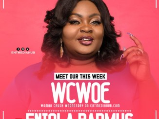 Meet Our This Week WCW - ENIOLA BADMUS
