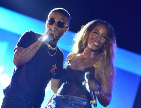 "Tiwa Savage Tells Wizkid, ""You Inspire Me So Much""- Fans Reacts"