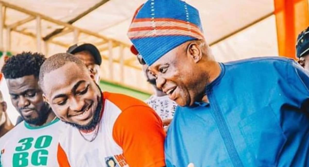 Davido rejoice as court declareshis uncle winner of Osun governorship election