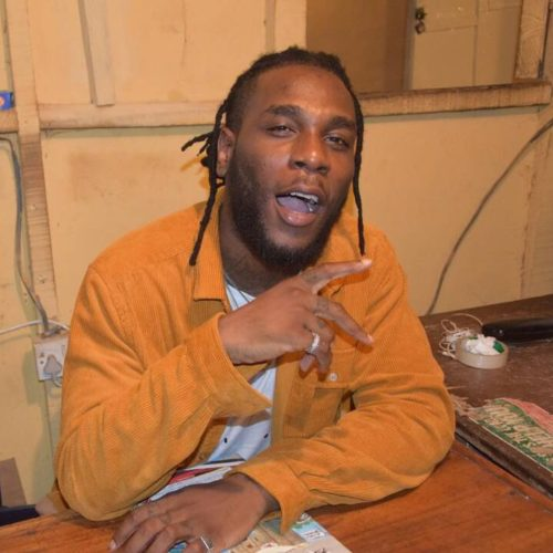 Burna Boy shares photo of him and his father