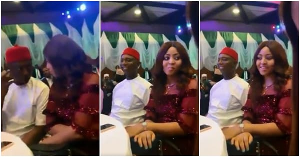 Regina Daniels and hubby Ned Nwoko all loved up in new video