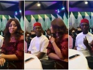[VIDEO] Regina Daniels and Ned Nwoko gisting like teenage lovers