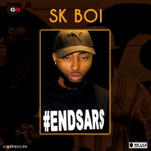"The American based Nigerian rapper "" SK Boi"" have finally joined the match to #EndSars Listen to his lyrics, this is a big message that every Nigerian needs to hear and spread as well. He also did a visual to this freestyle which is only available on his IG page @skboilsn Listen & Download ""SK Boi – EndSARS"" below:-"
