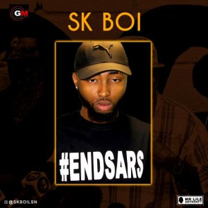 """The American based Nigerian rapper """"SK Boi"""" have finally joined the match to#EndSars Listen to his lyrics, this is a big message that every Nigerian needs to hear and spread as well. He also did a visual to this freestyle which is only available on his IG page @skboilsn Listen & Download """"SK Boi – EndSARS"""" below:-"""