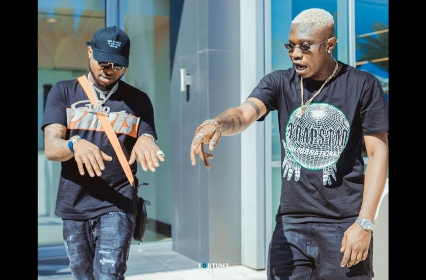 Davido gift Zlatan Ibile his necklace recounts how he helped his get famous