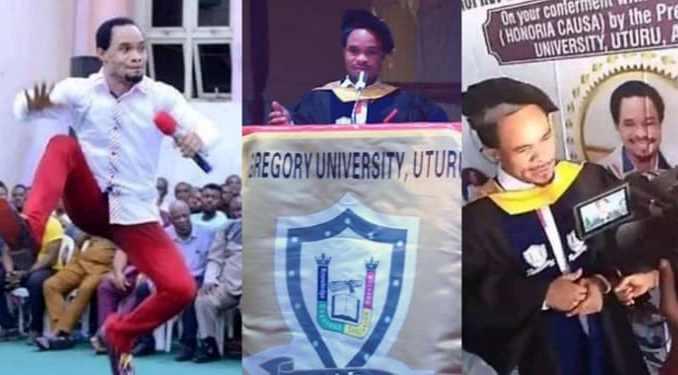 Famous Prophet Chukwuemeka Odumeje bags doctorate degree