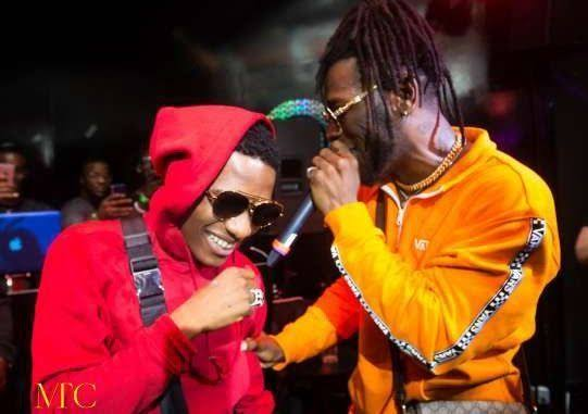 Wizkid's Phone Dropped At Burna Boy's Show - Watch What Happened Next