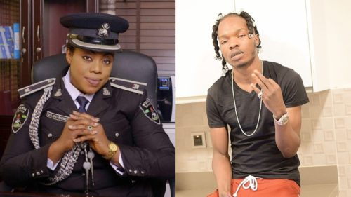 "She wants to have S*x With Me But She's Ugly"" - Naira Marley blash female Police"