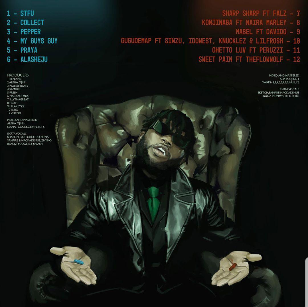 Dremo - CodeName Vol. 2 Track list