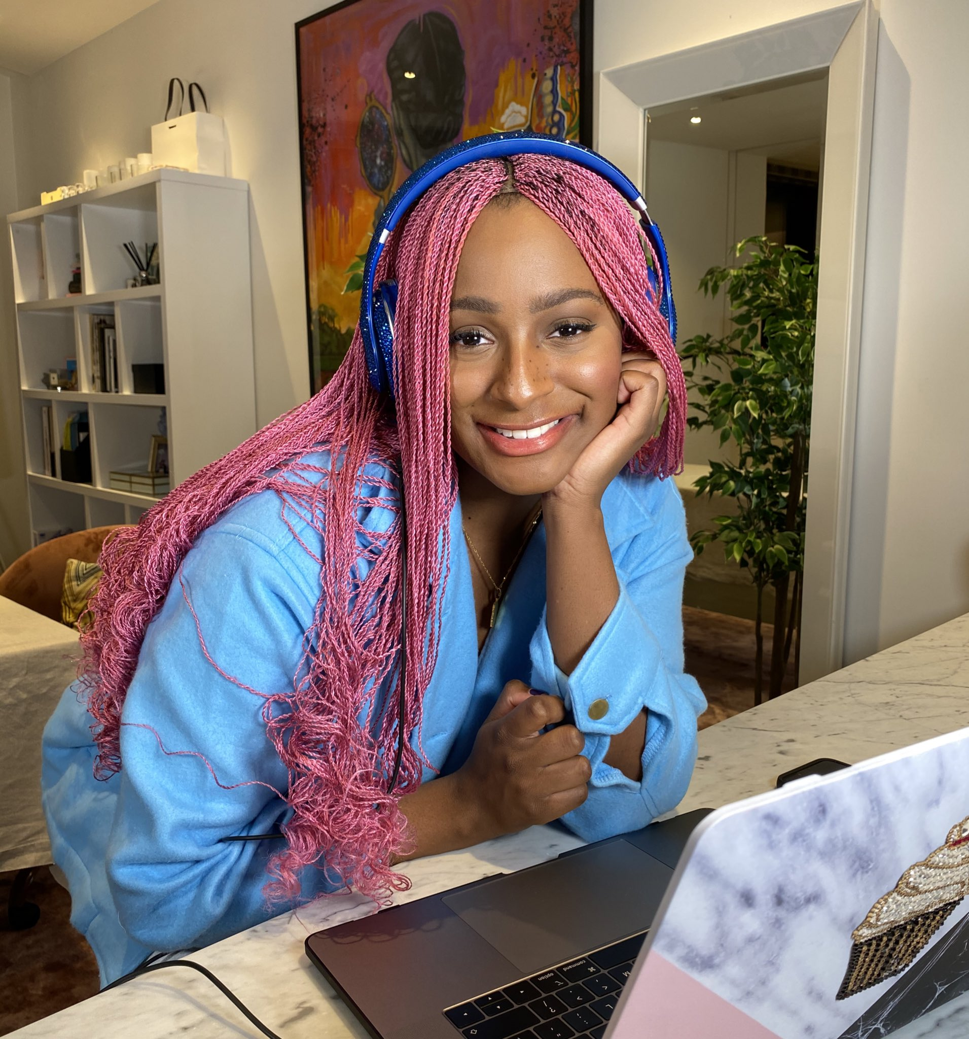 DJ Cuppy alert future husband of her bad cooking – shares photo of plantain she fried
