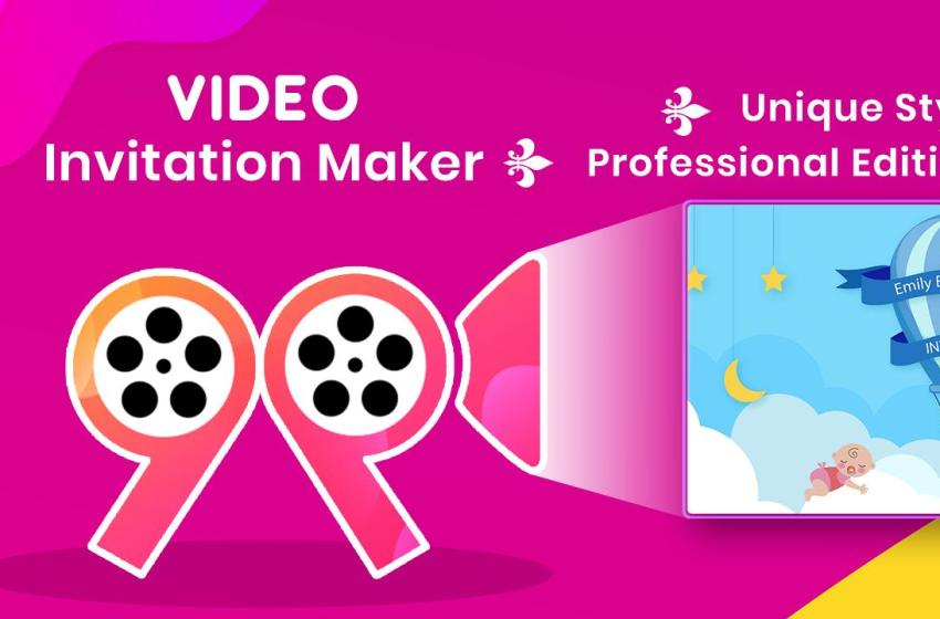 How To Design Your Own Invitation Video For An Upcoming Event