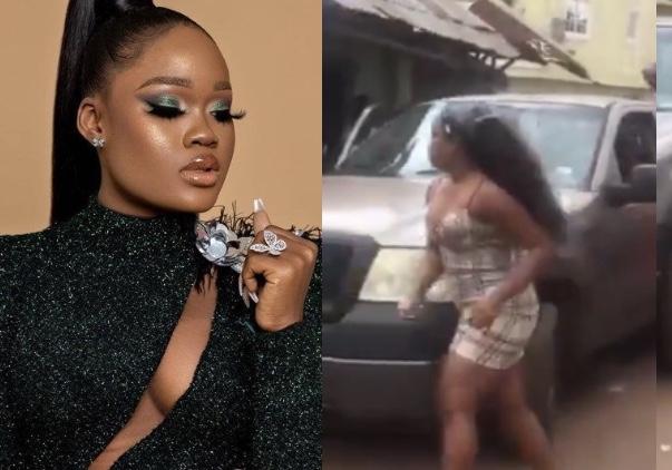 Ex-BBNaija star, Cee-C involved in fatal road accident in Enugu (VIDEO)