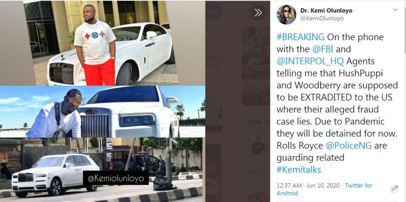 HushPuppi reportedly arrested in Dubai