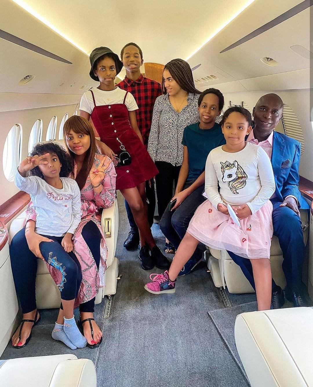 Ned NwokoRegina Daniel and wives